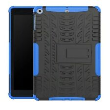 Hybrid Outdoor Protective Case Cover Blue for Apple iPad 9.7 2017 Pouch Skin