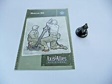 Axis & Allies mortero M2, - Base Set, 24/48, Tarjeta C/W