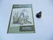 Axis & Allies mortero M2, - Base Set, 24/48, Tarjeta C/W