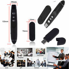 Wireless PowerPoint Presentation USB Presenter Remote with Laser Pointer UL