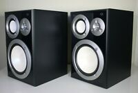Yamaha NS-6490 Bookshelf Stereo Speakers - 3 Way 140 Watts - Excellent Condition