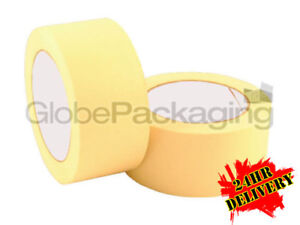 36 Rolls Of Masking Tape 50mm x 50M Strong Painting Tape
