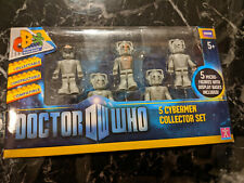 CHARACTER BUILDING DOCTOR WHO 5 CYBERMEN COLLECTOR SET NEW