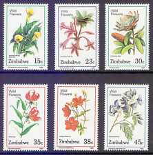 Mint Never Hinged/MNH Flowers Zimbabwean Stamps (1965-Now)