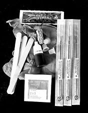 Stick too poke tattoo kit, diy stick tattooing, home tattoo kit, free instructio