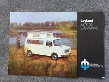 Leyland Motor Caravan brochure from Richard Holdsworth c1960s