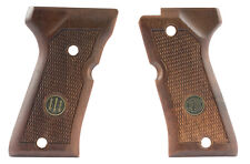 Beretta 92F Compact Pistol Grips, Checkered Walnut