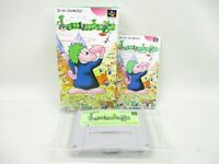 LEMMINGS Super Famicom Mint Cond Nintendo SFC SNES JAPAN Video Game aca sf