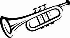 N8 ,Musikinstrument, Aufkleber,Trompete, Note, Wand ,Auto