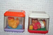 Fisher-Price Peek a Blocks set of 2 Christmas Presents & Mama/Baby Ducks