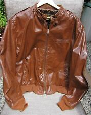 Vintage 1960s Reed Sportswear Motorcycle Cafe Racer Jacket - excellent