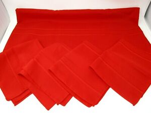 "Christmas Holiday Tablecloth Napkin Set Oval 60""x100"" Four Napkins"