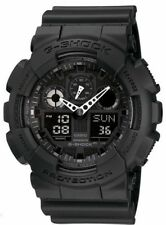 Casio G-Shock Chronograph Alarm Black GA-100-1A1ER