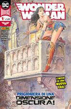 WONDER WOMAN 1 DC PANINI COMICS COPERTINA MILO MANARA