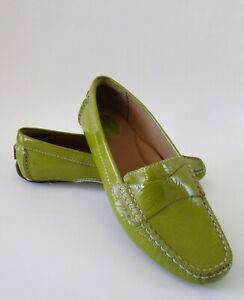 $140 NEW Clarks Artisan Dunbar Grandby Avocado Leather Moccasins Sz 8