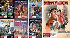 ARCHER Seasons 1 2 3 4 5 6 7 : NEW DVD