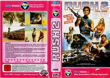 "VHS - FSK 18 - "" RUSH 2 - Final Game "" (1984) - Conrad Nichols  -- VPS"