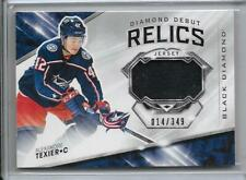 19-20 BLACK DIAMOND DEBUT RELICS ROOKIE JERSEY #DD-AT ALEXANDRE TEXIER RC 14/349