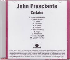 John Frusciante (Red Hot Chili Peppers) - Curtains - Rare 2004 11trk promo CD
