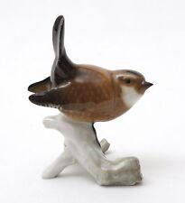 Hutschenreuther Porcelain Germany, Wren Figurine #8167