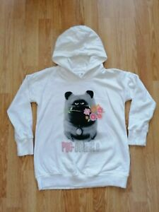 GORGEOUS GIRLS PUG HOODIE FROM NEXT SIZE 11 YEARS / 10 - 11 YEARS MINT CONDITION