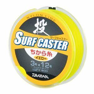 Daiwa Harisu SURF CASTER With thread Nylon 15mx5pce #3-#12 Yellow
