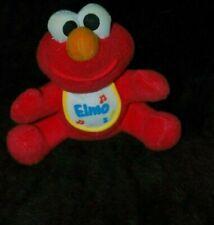 "PicClick TYCO SESAME STREET BABY Elmo W/BIB Plush Stuffed Animal 6"""