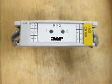 ATR Gold Contact Relay RM2 230VAC/24V Din Rail Mount Used