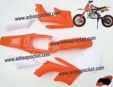 Kit Carénage Orange Type 2 Pocket Bike Cross 49cc