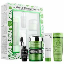 LANCOME Made of Energie de Vie Gift Set LOTION +CLEANSER +CREAM +MASK +GENIFIQUE