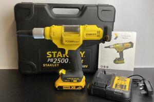 Stanley Dewalt PB2500 SMART 18V Cordless Pop Rivet Gun Riveting Tool