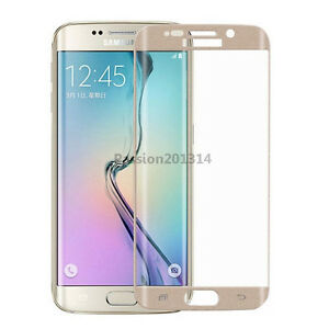 9H Full Tempered glass Screen Protector For Samsung Galaxy S6 Edge+ Plus Curved