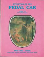 Pedal Car Evolution Pre 1900-1980s Sleds Scooters Tricycles Volume 2  1990