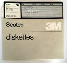 "3M Scotch 8"" inch 743-0 Diskette vintage       156"