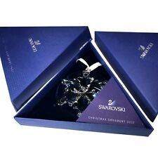 Swarovski 2012 Christmas Star / Snowflake - Mint, w. both boxes & triangle paper