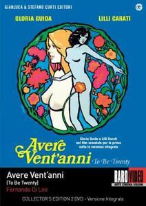 Dvd Avere Vent'Anni (Collector'S Edition 2 Dvd+Extra) (1978) Lilli Carati..NUOVO