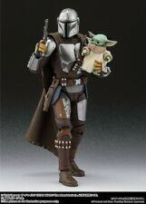 Bandai S.H. Figuarts Star Wars The Mandalorian (Beskar Armor)& The Child Set PSL