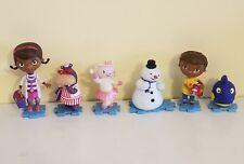 Doc Mcstuffins Figures Pvc Cake Toppers Puzzle Bases Doc,Hallie,Lambie,Donny
