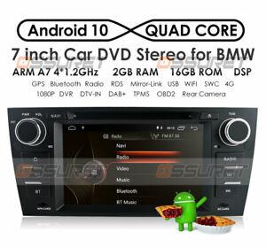 Android 10.0 Autoradio GPS Navi für BMW 3 Series E90 E91 E92 E93 DAB+ CarPlay CD