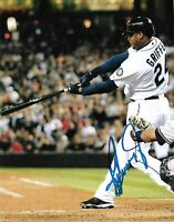 Ken Griffey Jr. Autographed Signed 8x10 Photo ( HOF Mariners ) REPRINT ,
