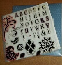 "CTMH XLG E1006 BAROQUE ALPHABET ~ DECORATIVE BOXES 1 1//2/"" UPPERCASE LETTERS 1/"""