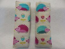Baby Seat Strap Covers Pram Capsule Highchair Stroller - Snazzy Hedgehogs