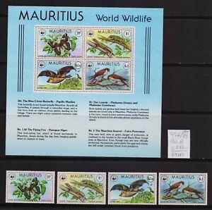 ! Mauritius 1978.  Stamp. YT#476/479,B8. €100.00!