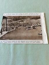 m5-1 ephemera 1943 ww2 picture aerial view catania sicily