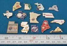LOT OF 14 US STATES USA CHEVALIERS DE COLOMB KNIGHTS OF COLUMBUS PIN # O018