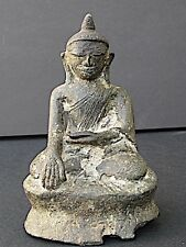 Antique Bouddha en bronze, BIRMANIE