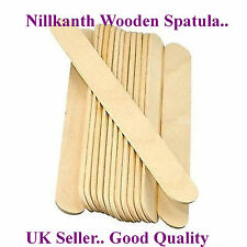 100 x Wooden Waxing Spatula Tongue Depressor Tattoo Wax Stick  Seller..Nillkanth