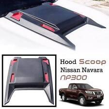 MATTE BLACK HOOD SCOOP FOR NISSAN FRONTIER NAVARA NP 300 13-17  VENT COVER TRIM