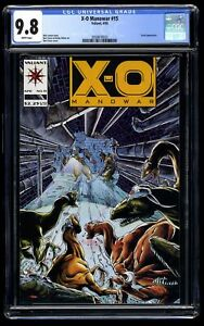 X-O Manowar #15 CGC NM/M 9.8 White Pages Turok!