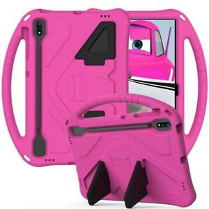 Kids Safe EVA Stand Handle Case Cover Fr Samsung Galaxy Tab S7 FE plus T730 T970